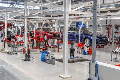 Tesla Tilburg fabrik – tesla model s