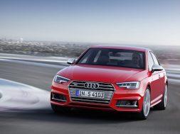 Ny Audi S4 i Frankfurt