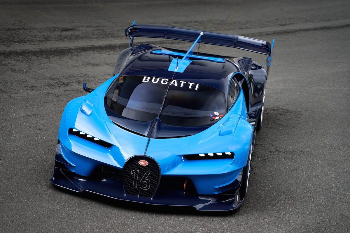 Vildt Bugatti-monster: Vision Gran Turismo