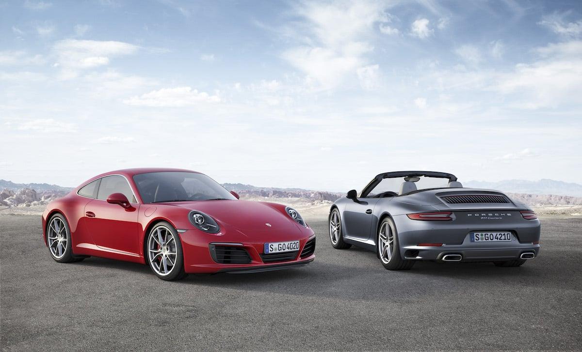 Den nye Porsche 911 Carrera