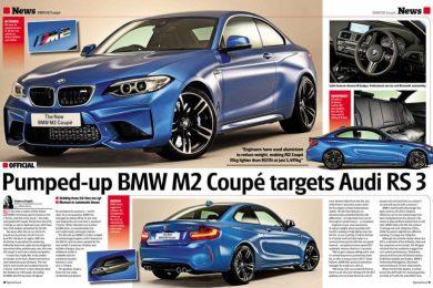 BMW M2 lækket