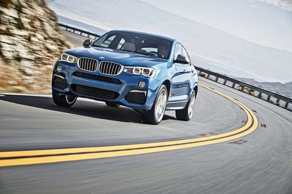 BMW X4 med M Performance motor