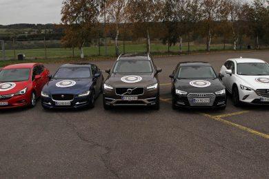 Finalisterne til årets bil i Danmark 2016