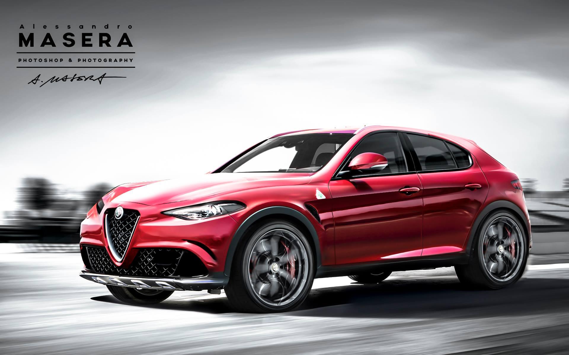Italieneren vi længes efter: SUV'en fra Alfa Romeo