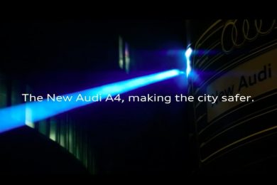 Audi A4 matrix lygter