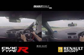 Honda Civic Type R udfordrer Mercedes Mégane RS