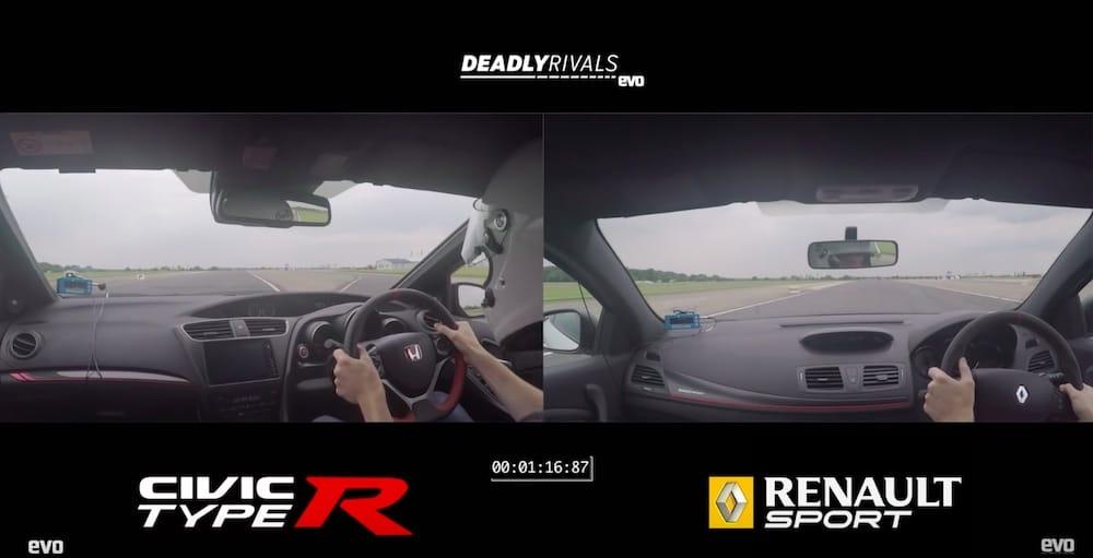 Video: Civic Type R udfordrer Mégane R.S.