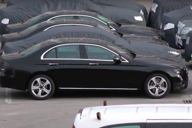 Kig på Mercedes E-klasse 2017
