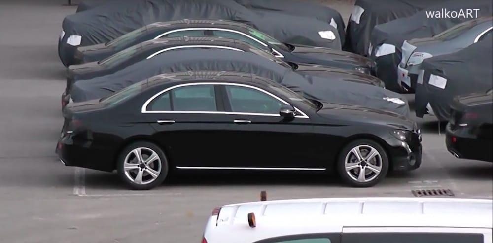 Første kig på den nye Mercedes E-klasse