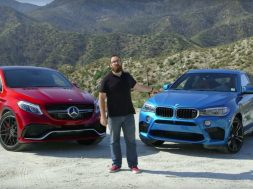 Mercedes GLE AMG og BMW X6 M