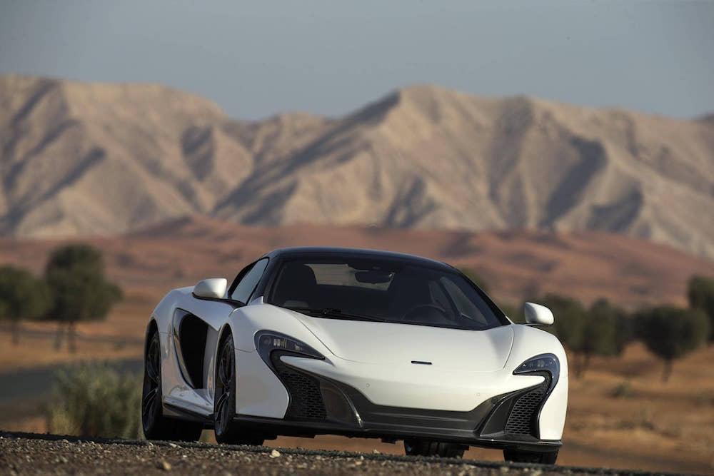 """MSO-designet McLaren 650S Spider """"Al Sahara 79"""" offentliggjort"""