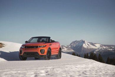 3. Range Rover Evoque Convertible
