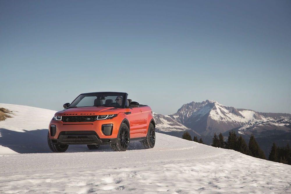 Range Rover Evoque Cabriolet lanceret og er en spøjs sag