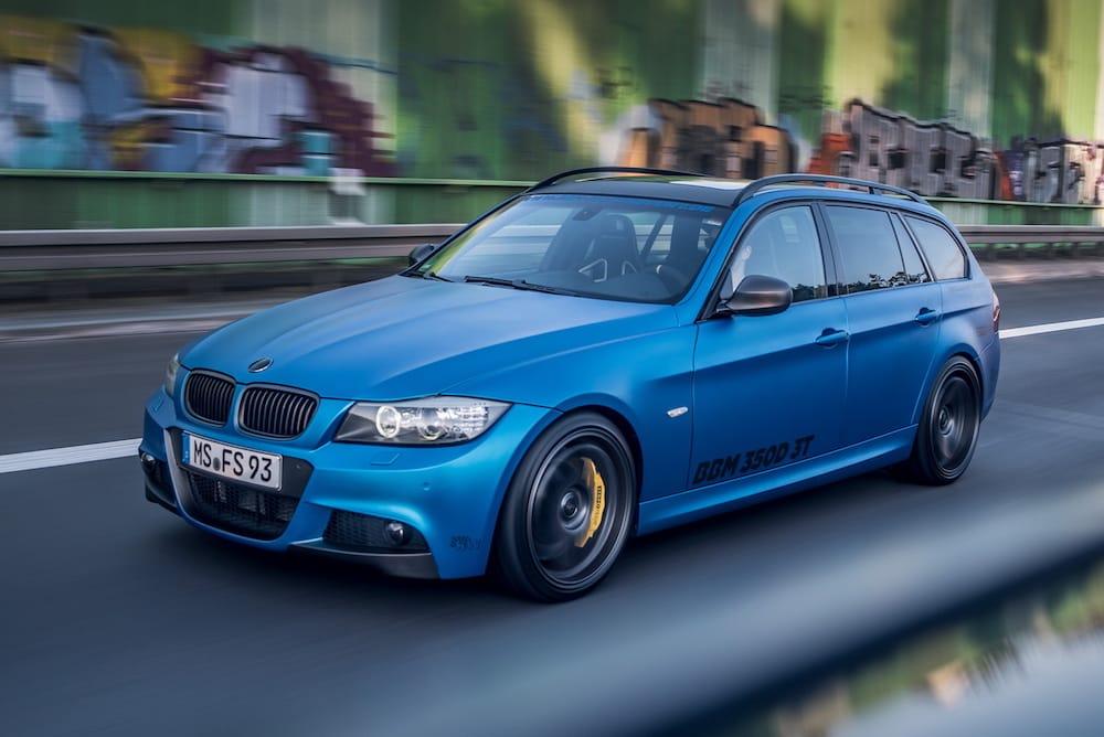 BMW 3-serie med M550D-motor…