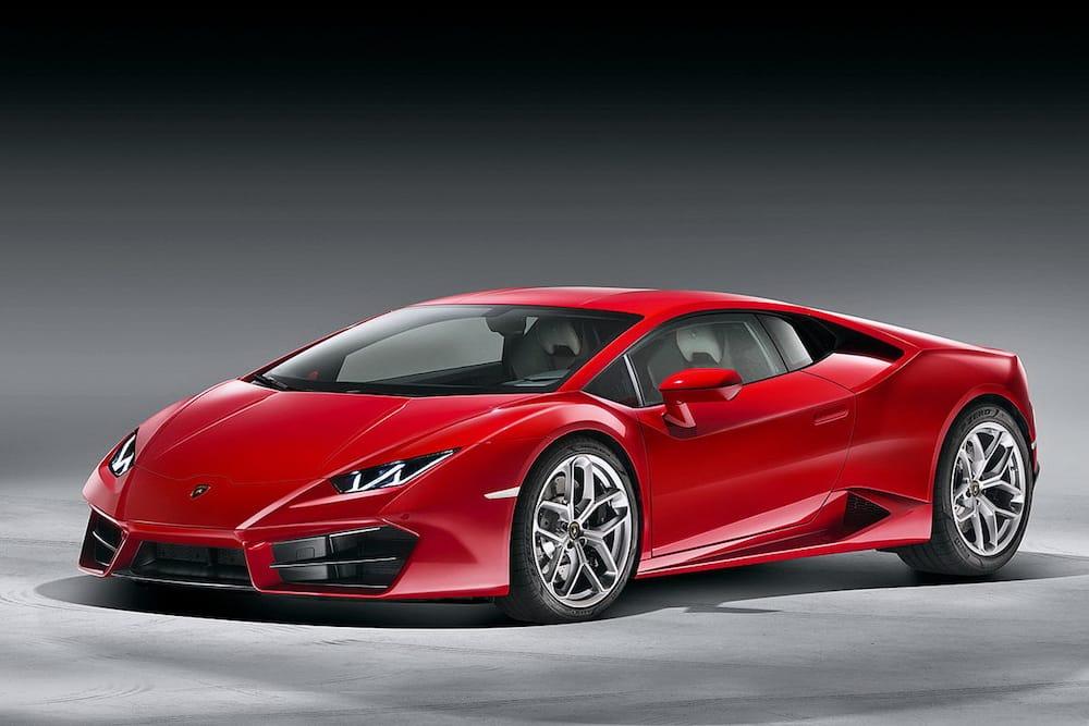 Lamborghini Huracán med baghjulstræk!
