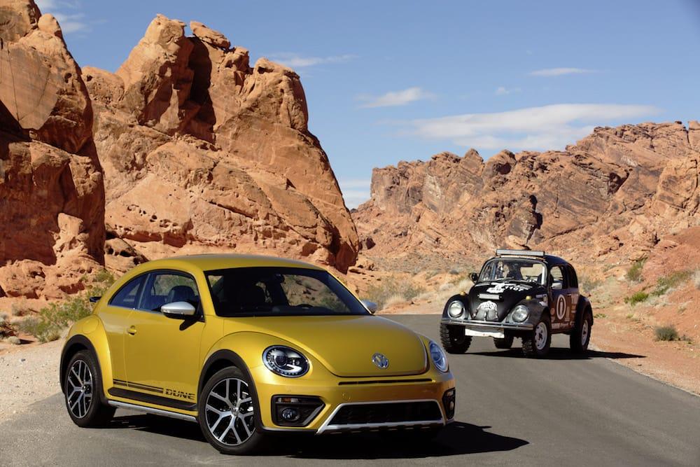 Den her Beetle er både rå og sporty!
