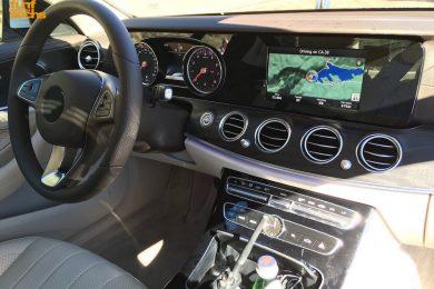 Mercedes E-klasse interiør