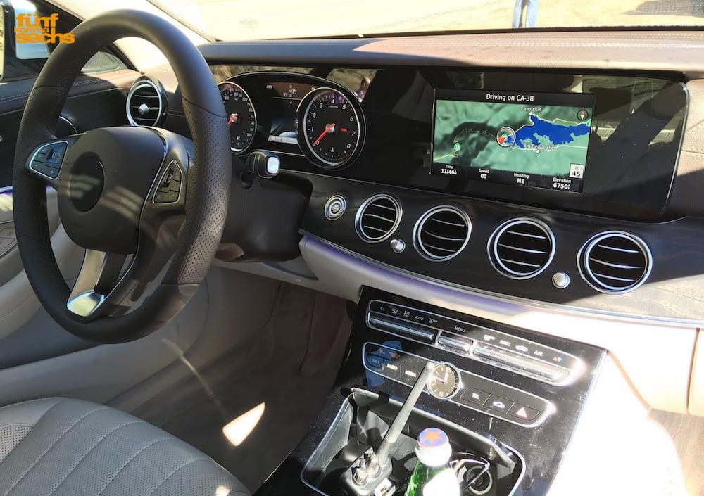 Sådan vil en basis Mercedes E-klasse se ud