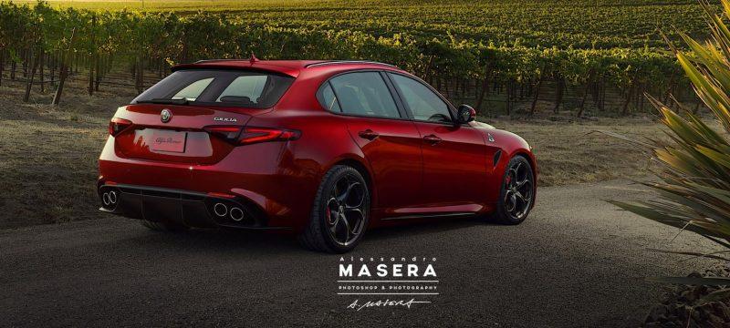 Alfa Romeo Giulia QV stationcar