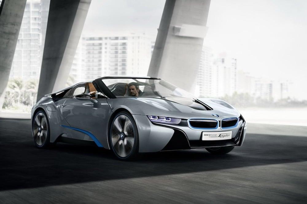 Er BMW i8 Spyder på vej?