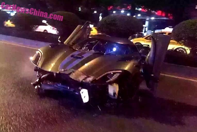 Video: Her smadrer han speciel Koenigsegg Agera R