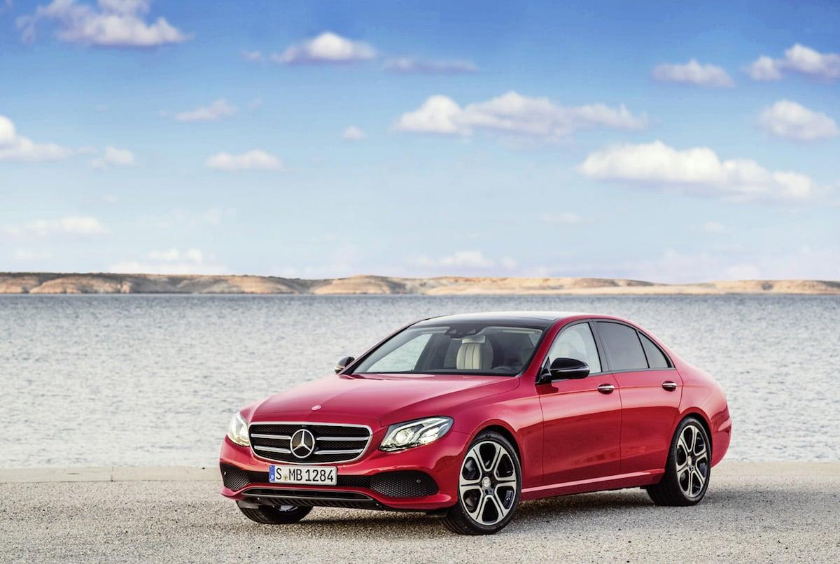 Ny Mercedes E-klasse er endelig offentliggjort!