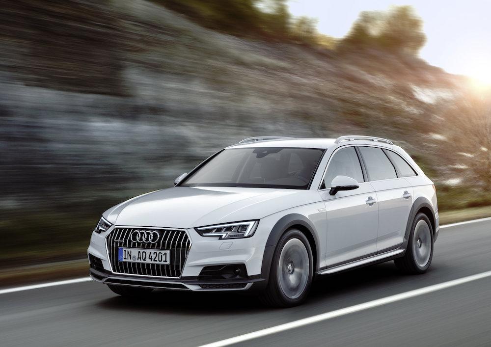 Audi A4 allroad quattro løfter ny firehjulstrækker hele 34mm