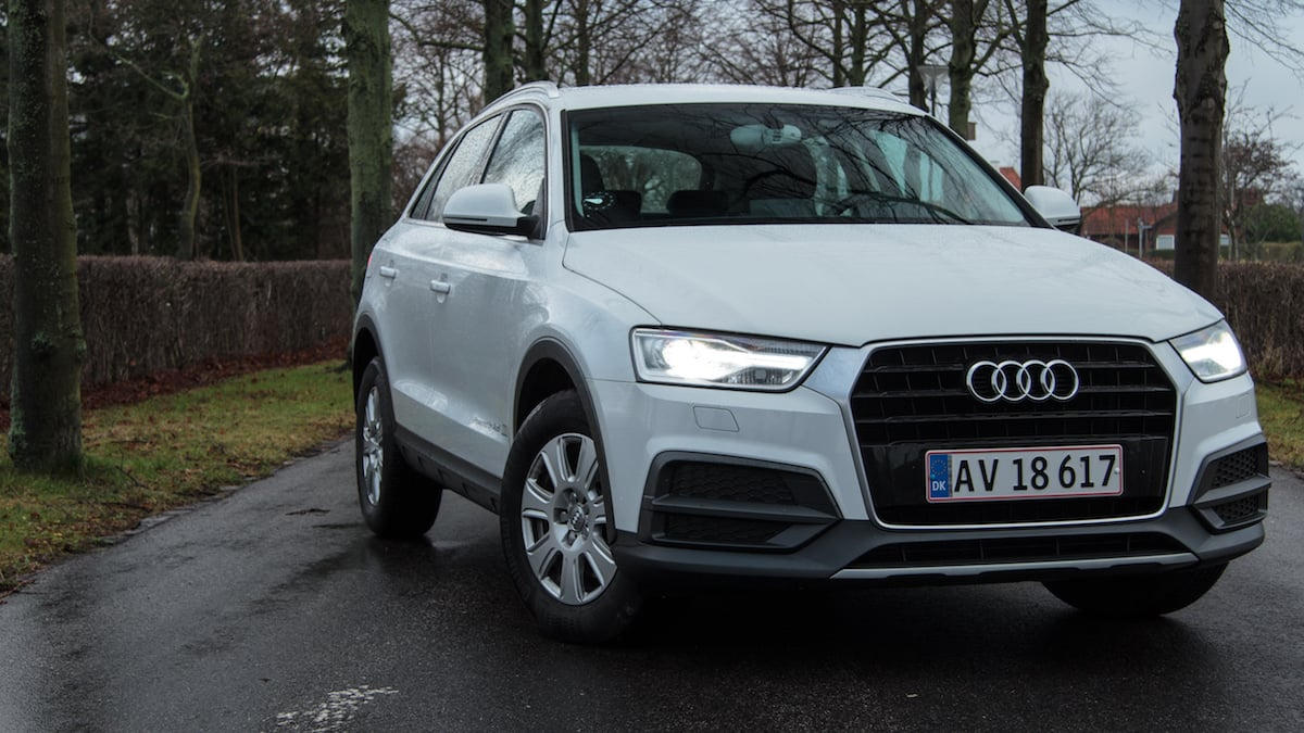 Test: Audi Q3 2.0 TDI – med Ultra effektiv dieselmotor