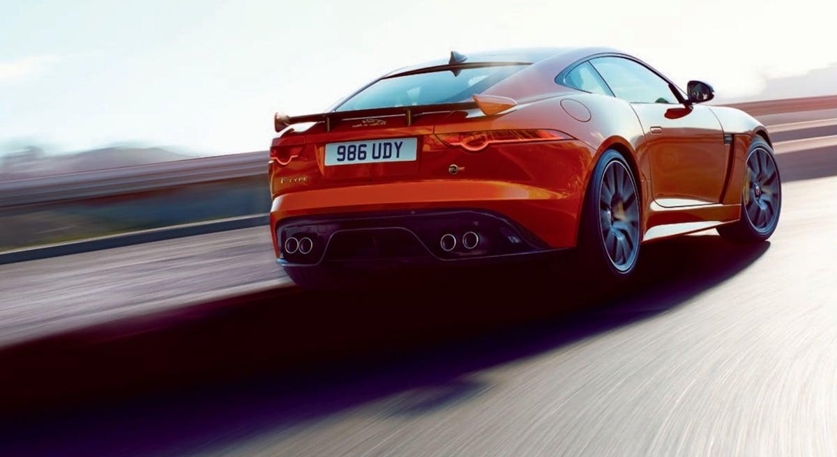 Ny Jaguar F-Type SVR med 575 hk