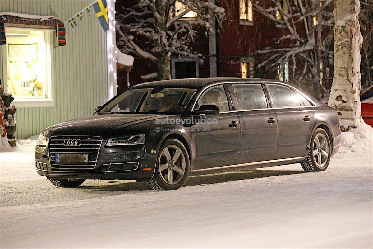 Her er en meget LAAAAAANG Audi…