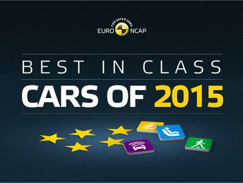 Euro NCAP kårer de sikreste biler i 2015