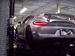 Tunet Porsche Cayman GT4