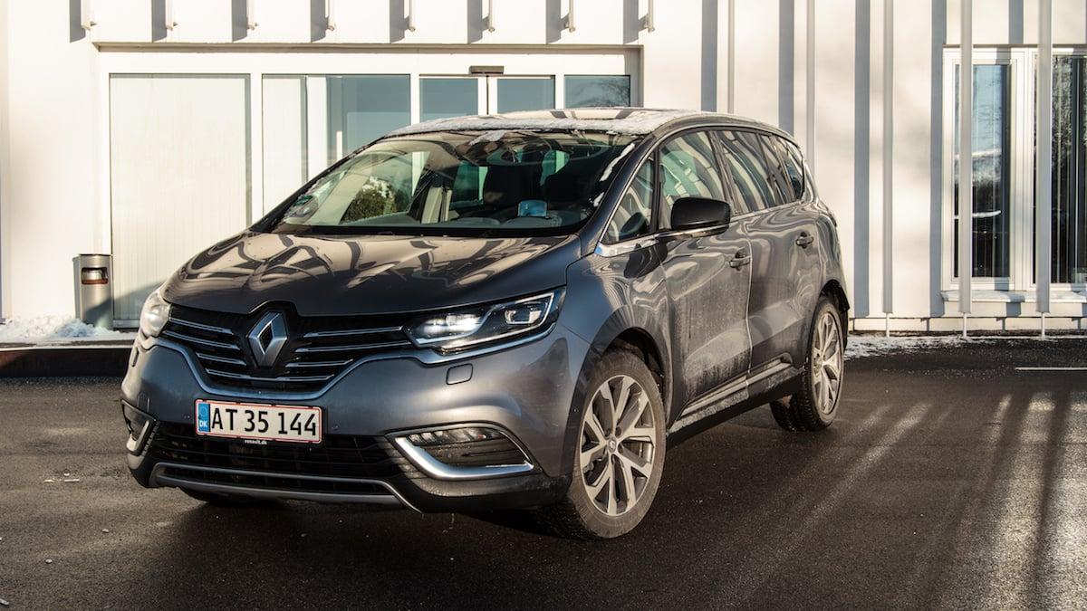 Test: Renault Espace ZEN EDC – Fransk familiebus vil være luksuriøs