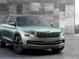 Skoda VisionS koncept SUV