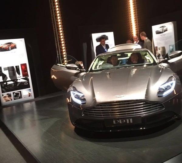Ny Aston Martin DB11 lækket
