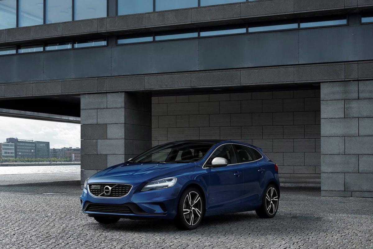 Volvo V40 får et ansigtsløft