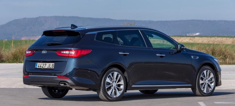 Ny KIA Optima stationcar (SW)