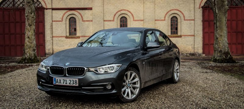 BMW 320d facelift test