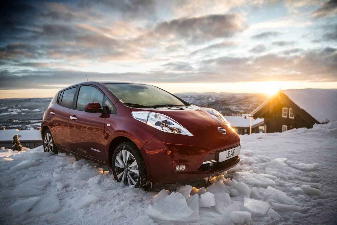 Duracell-batterier til ny Nissan Leaf!