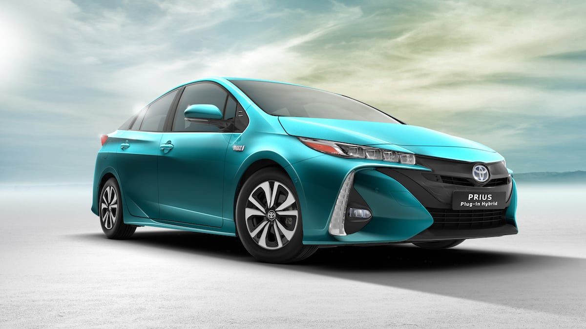 Toyota afslører ny Prius plug-in hybridbil