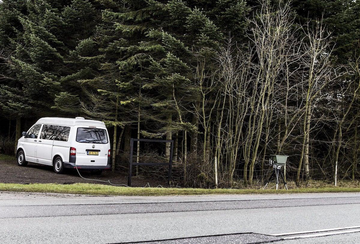 Politiet klar med ny automatisk hastighedskontrolteknologi