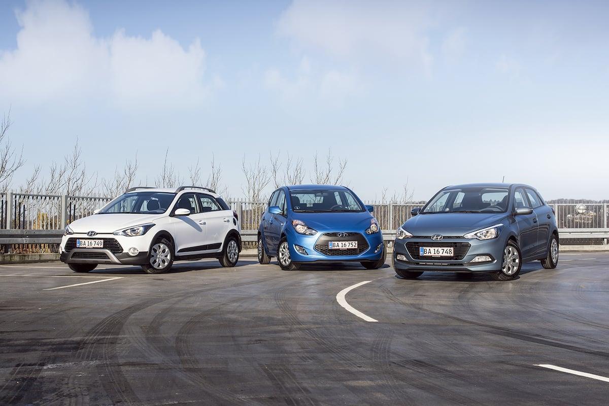 Hyundai udvider med i20 Active Cross og ix20