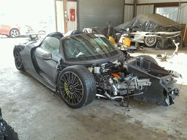 Håndværkertilbud på Porsche 918 Spyder