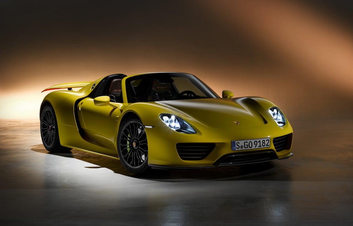 Så dyre er reservedelene til Porsche 918 Spyder!