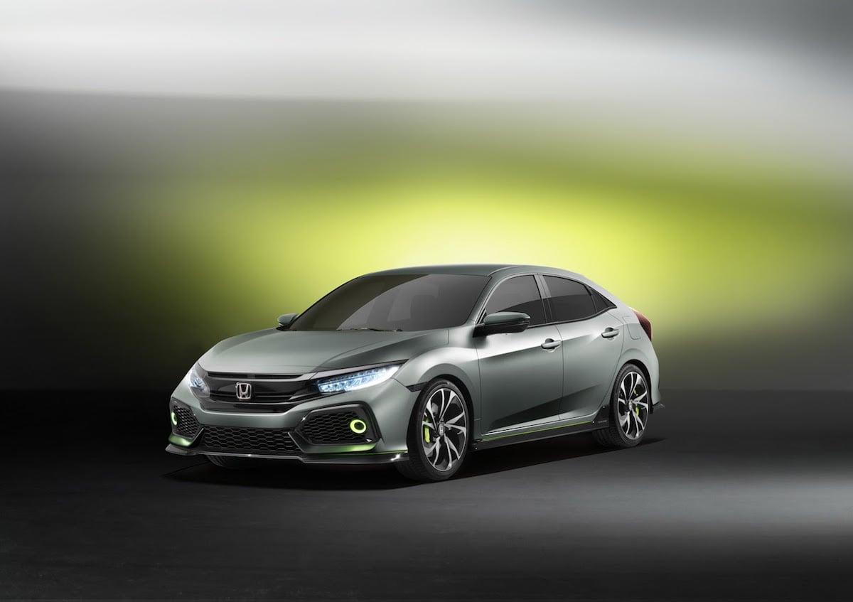 Honda viser næste generation af Civic