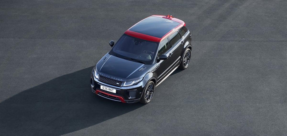 Her er den faceliftede Range Rover Evoque