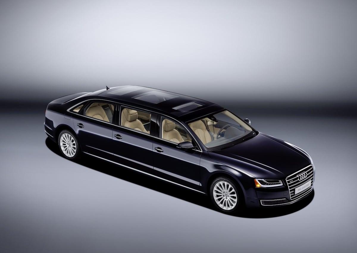 Speciel Audi A8L er EKSTRA lang…