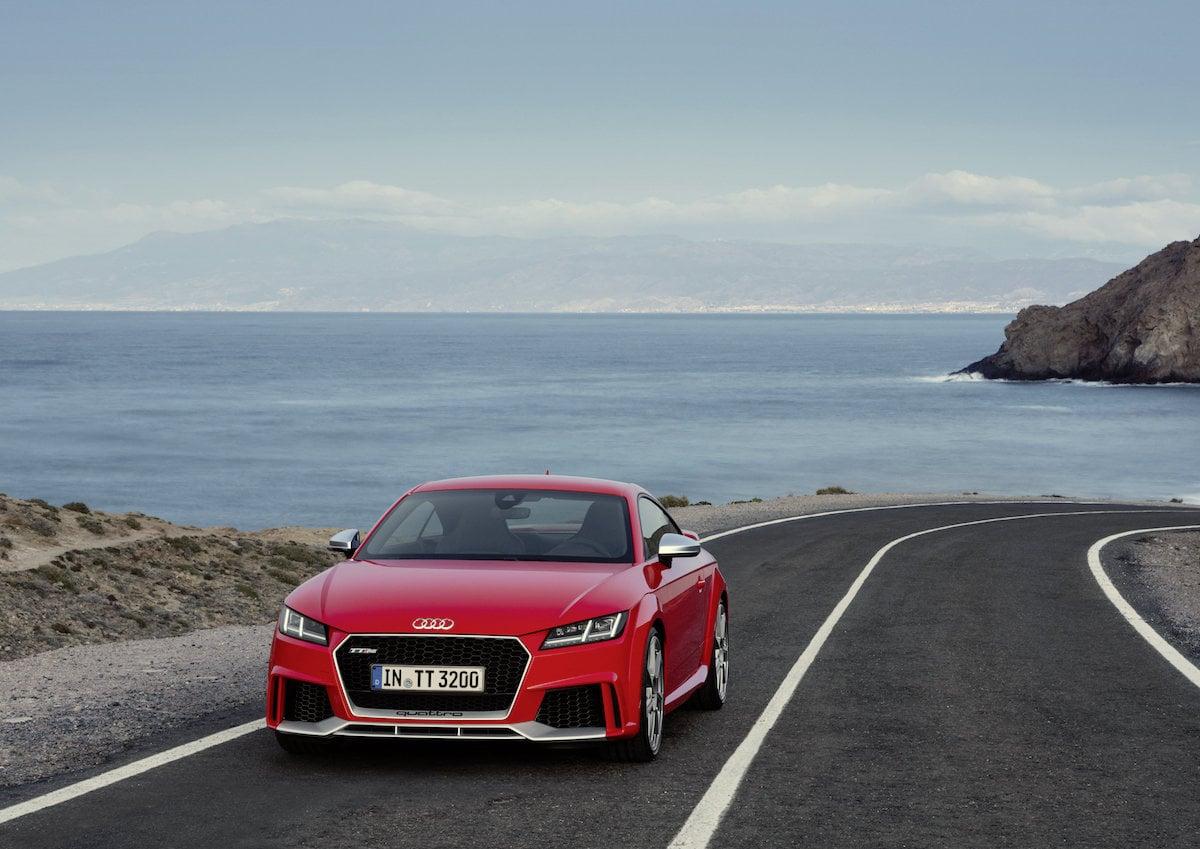 Her er den: Audi TT RS!