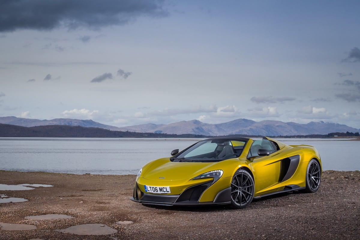 Billedserie: McLaren 675LT Spider