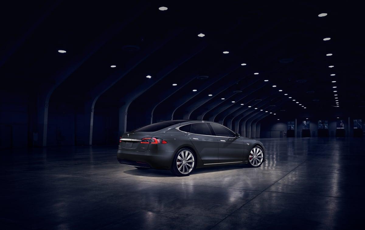 Første billeder af faceliftet Tesla Model S